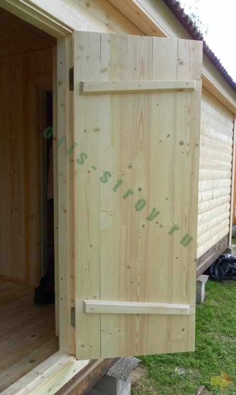 Двери деревянные в баню своими руками фото